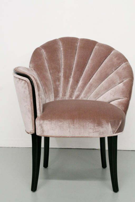 fauteuil style vintage glamour
