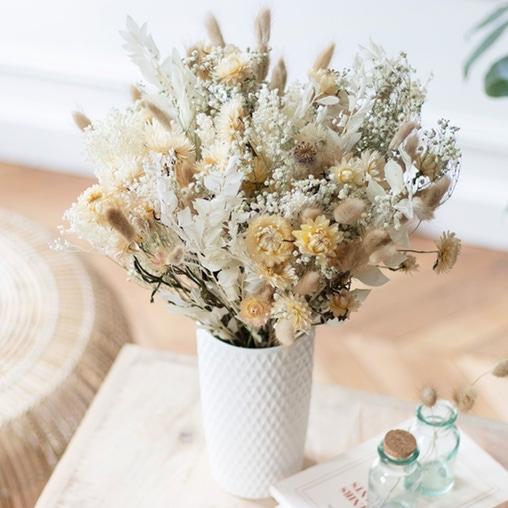 Fleurs séchées cadeaux fête des mères