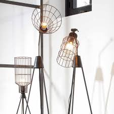 lampe sur pied industrielle