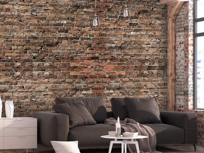 mur en brique style vintage industriel