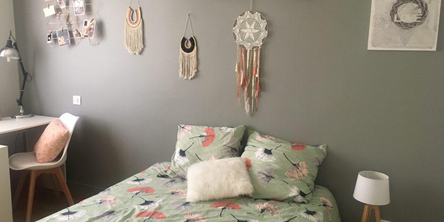 panorama lit chambre ado