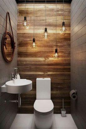 décoration industrielle toilettes
