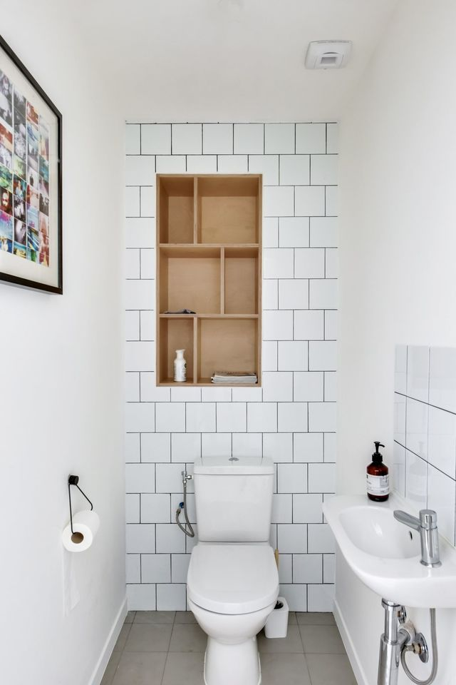 toilettes blanche