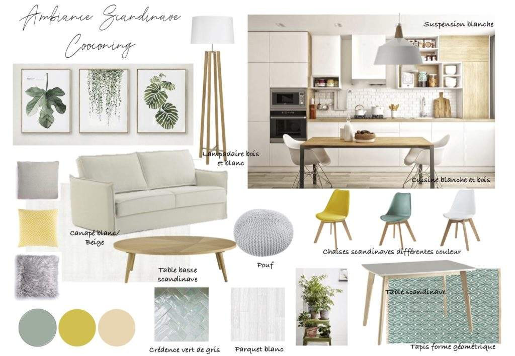 ambiance scandinave cocooning