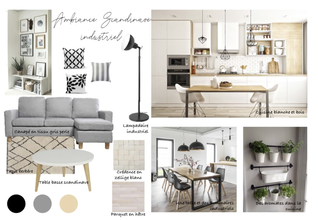 Ambiance scandinave industriel