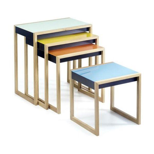 Tables Nesting, Joseph Albers