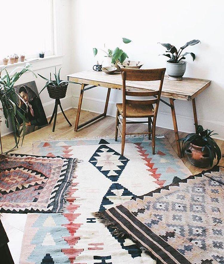 tapis berbere pour style boheme